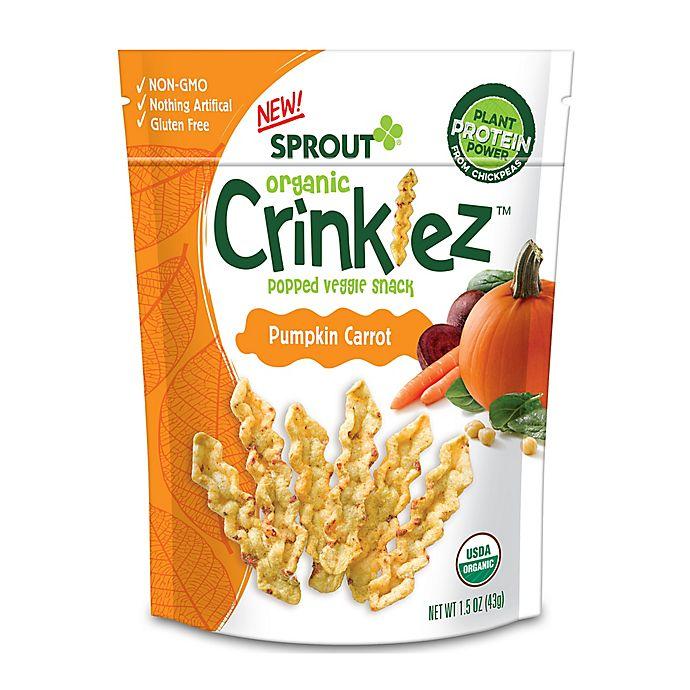 Alternate image 1 for Sprout Organic Foods® 1.48 oz. Pumpkin Carrot Crinklez