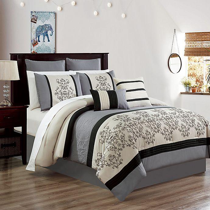 Alternate image 1 for Carter Embroidered Comforter Set