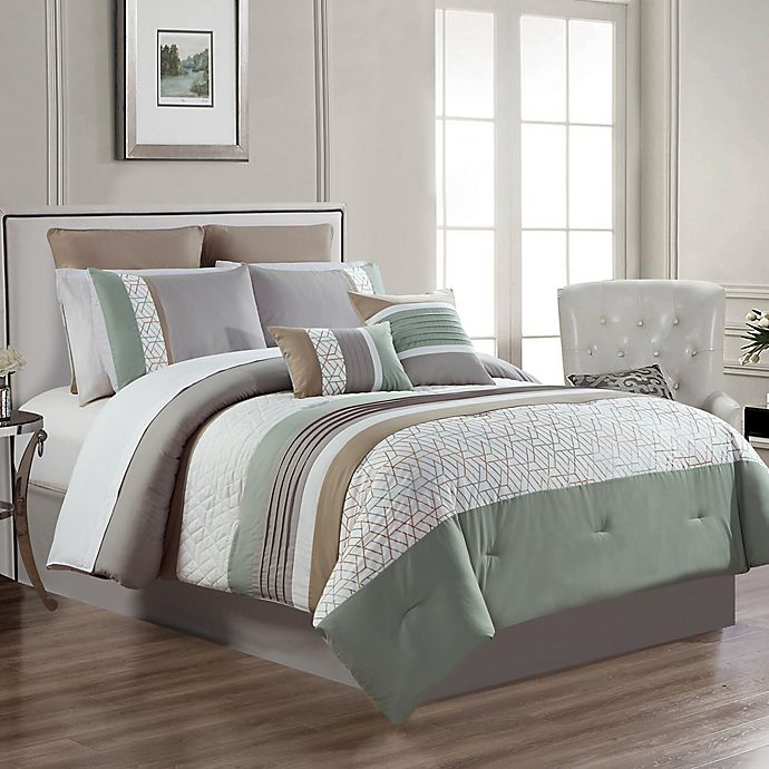 Alternate image 1 for Lucy 12-Piece Comforter Set