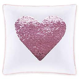 Julissa Heart Throw Pillow in Pink