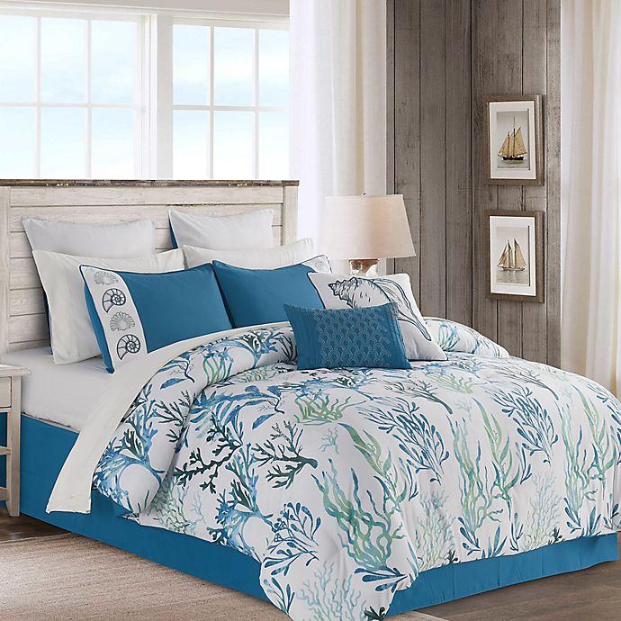 Alternate image 1 for Merane 12-Piece Queen Comforter Set in Blue