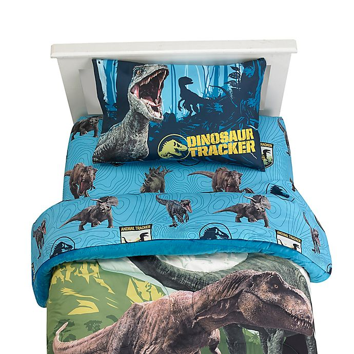Jurassic World 2 Blue Fusion Sheet Set Bed Bath Beyond