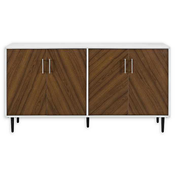 Alternate image 1 for Forest Gate™ Jade 58-Inch Modern Bookmatch Buffet Console