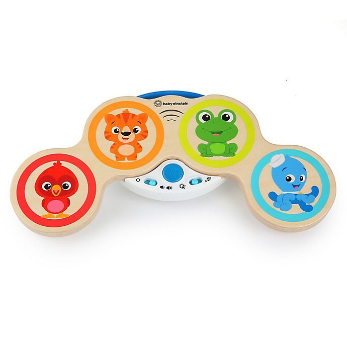 Alternate image 1 for Baby Einstein™ Hape Magic Touch Drums™ Musical Toy