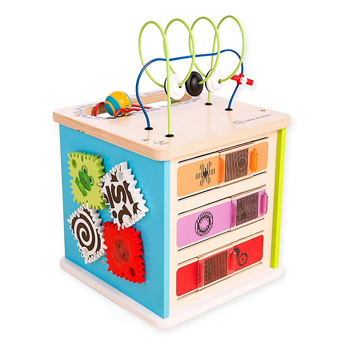 Alternate image 1 for Hape Baby Einstein™ Innovation Station™ Activity Cube