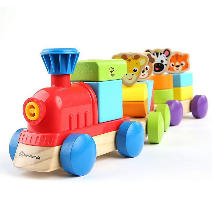 Alternate image 1 for Hape Baby Einstein™ Discovery Train™ Wooden Toy