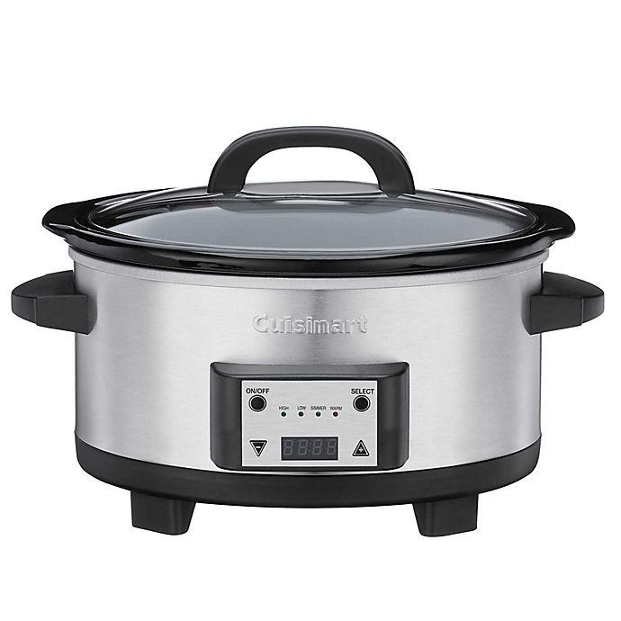 Alternate image 1 for Cuisinart® 6.5-Quart Programmable Slow Cooker