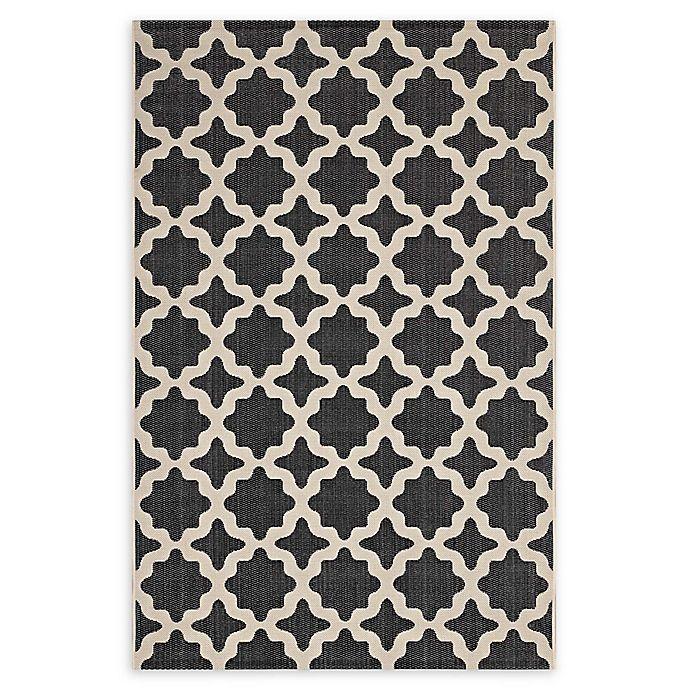 Modway Moroccan Trellis Flat-Weave Indoor/Outdoor Area Rug