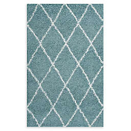 Modway Toryn Diamond Lattice Shag Area Rug