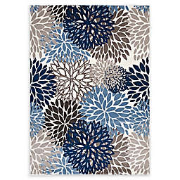 Modway Vintage Abstract Floral Rug
