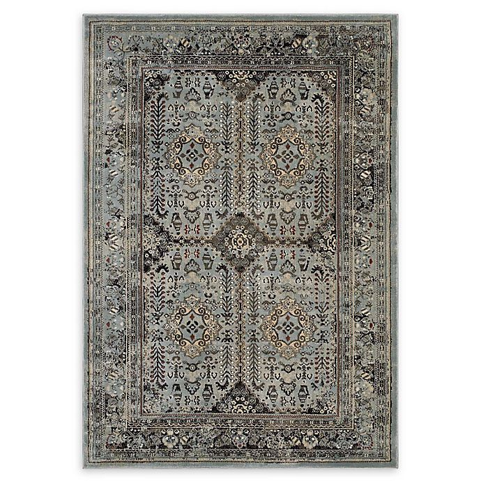Alternate image 1 for Modway Enye Vintage 5' x 8' Flat-Weave Area Rug in Brown/Silver