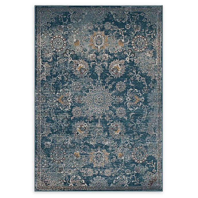 Alternate image 1 for Modway Cynara 5' x 8' Flat-Weave Area Rug in Silver/Blue