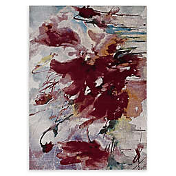 Modway Blume Abstract Floral Multicolor Rug
