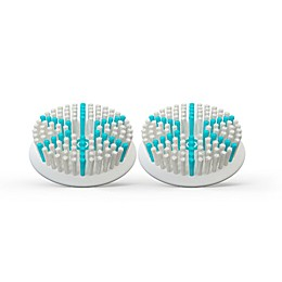 TAO Clean 2-Pack Aura Clean Daily Care Replacement Brush Head in White