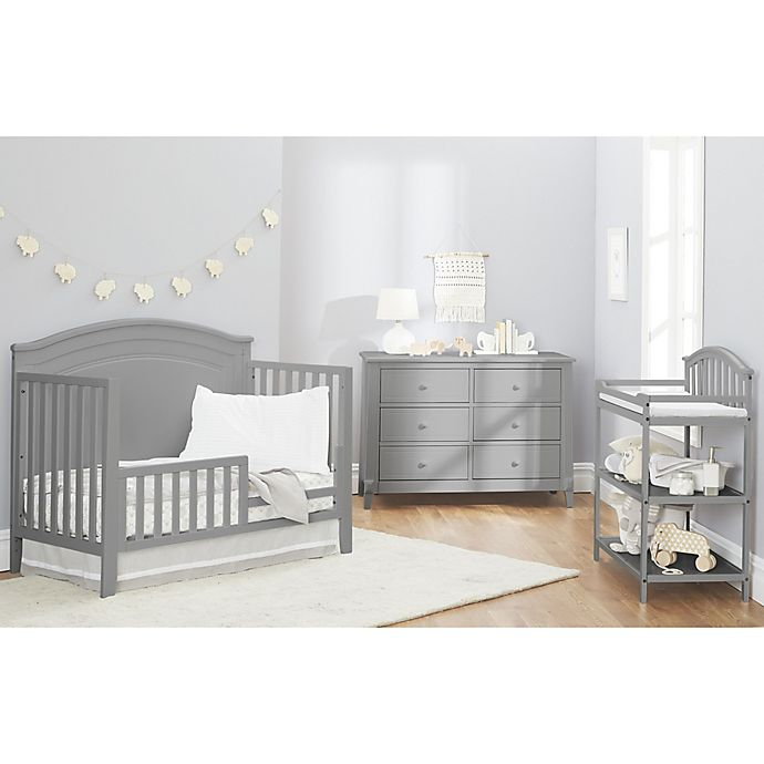Alternate image 1 for Sorelle Berkley Round Top Panel Nursery Furniture Collection in Grey
