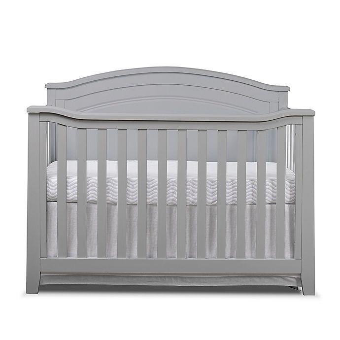 Alternate image 1 for Sorelle Berkley 4-in-1 Convertible Panel Crib in Grey