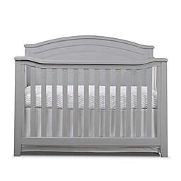 Sorelle Berkley 4-in-1 Convertible Panel Crib in Grey