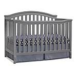 Sorelle Berkley 4-in-1 Convertible Crib in Grey