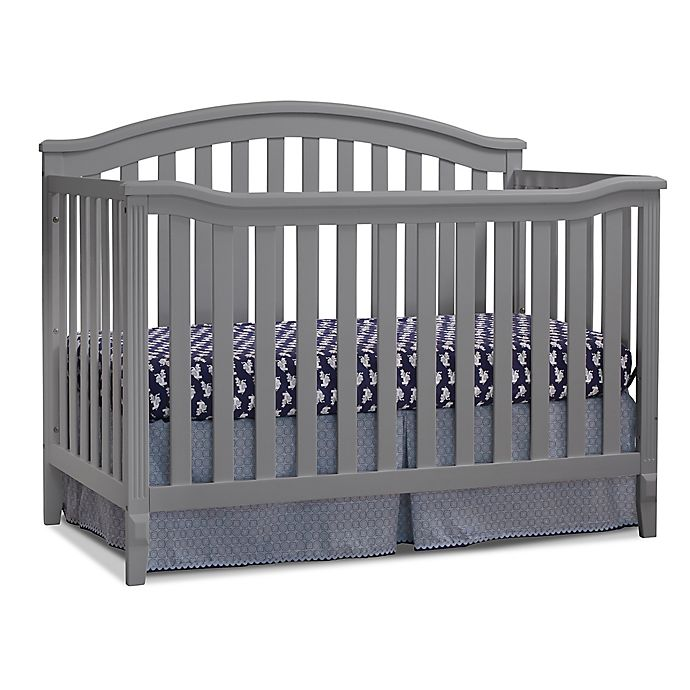 Alternate image 1 for Sorelle Berkley 4-in-1 Convertible Crib in Grey