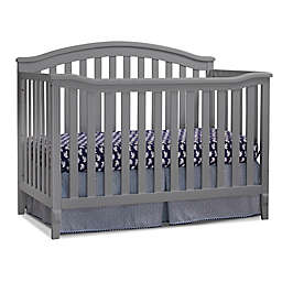 Sorelle Berkley 4-in-1 Convertible Crib in Grey
