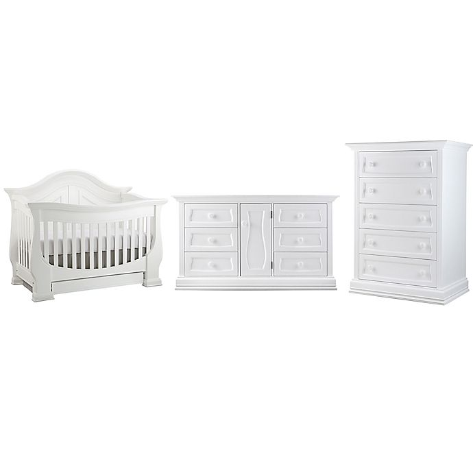 Dorchester Nursery Furniture Collection In White