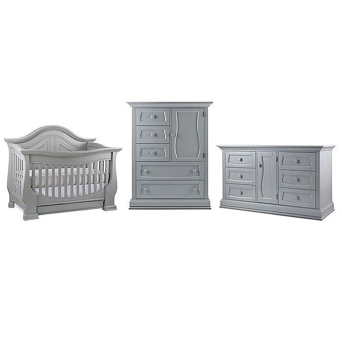 Alternate image 1 for Dorchester Nursery Furniture Collection in Grey
