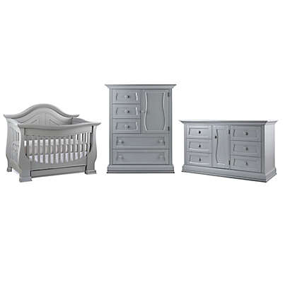 Dorchester Nursery Furniture Collection in Grey