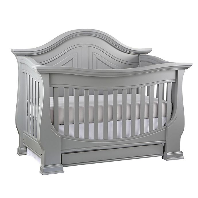 Alternate image 1 for Dorchester 4-in-1 Convertible Crib in Moon Grey