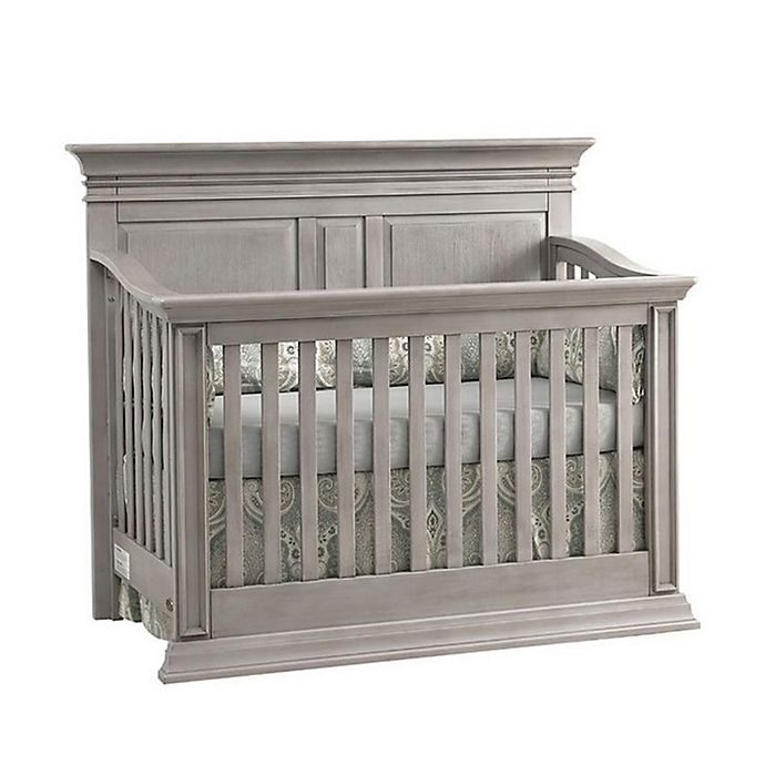 Alternate image 1 for Baby Cache Vienna 4-in-1 Convertible Crib in Ash Grey
