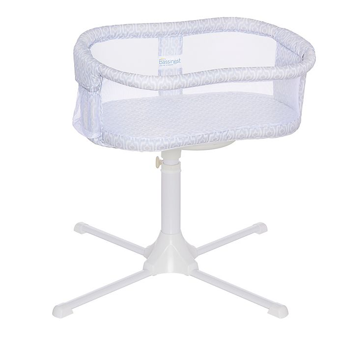 Alternate image 1 for HALO® Bassinest® Essentia Series Swivel Sleeper in Blue Ikat