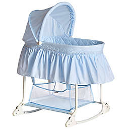 Dream on Me Willow Bassinet in Light Blue