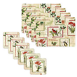 Pimpernel Holiday Nostalgia Placemat Collection
