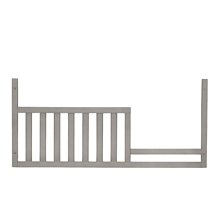 Baby Cache Vienna Toddler Guard Rail In Ash Grey Buybuy Baby