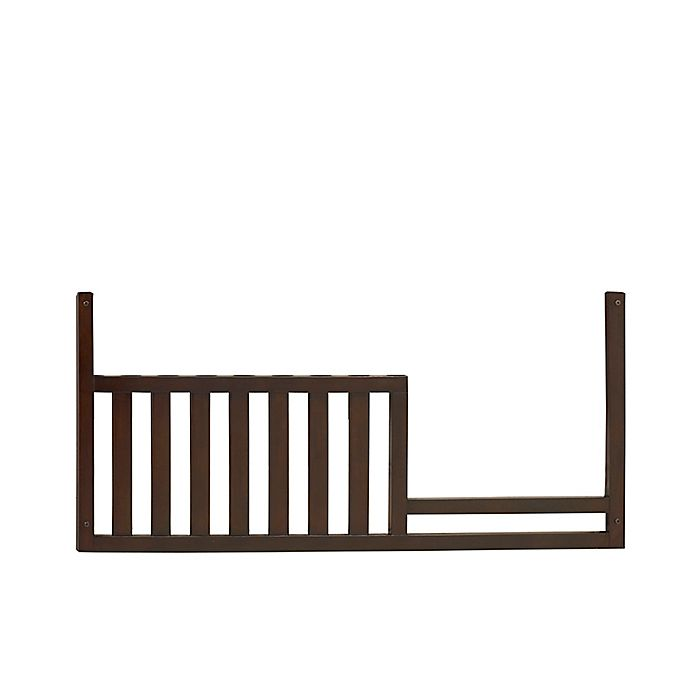 Alternate image 1 for Baby Cache Vienna Toddler Guard Rail in Espresso