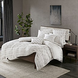 INK+IVY Fiji Reversible Duvet Cover Set