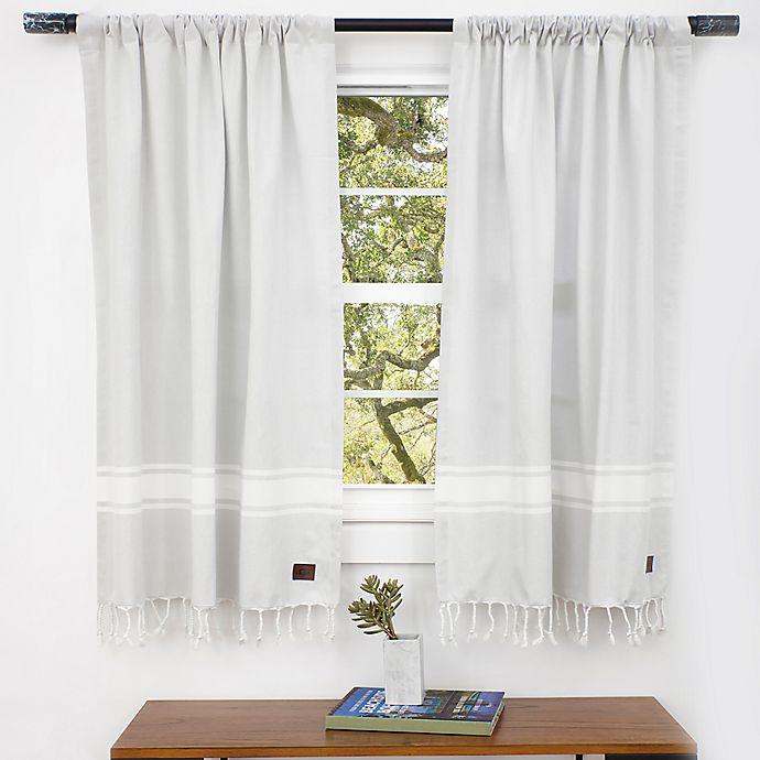 Ugg 174 Costa Mesa Bath Window Curtain Panel Pair In Agave