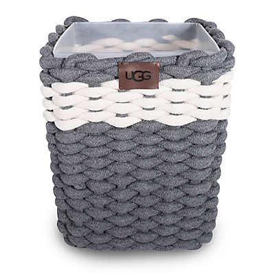 UGG® Sadie Wastebasket in Charcoal/Snow