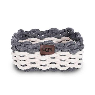 UGG® Sadie Vanity Storage Bin in Charcoal/Snow