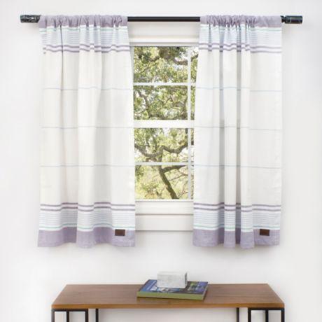 Ugg 174 Sadie Window Curtain Panels And Valance In Moonbeam