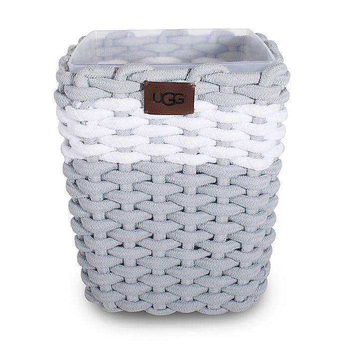 Alternate image 1 for UGG® Napa Wastebasket in Agave