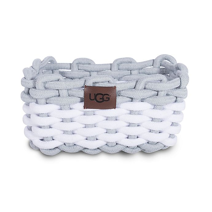Alternate image 1 for UGG® Napa Cotton Rope Storage Bin in Agave