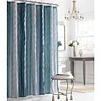 Manor Hill® Sierra Sapphire 72-Inch x 72-Inch Fabric Shower Curtain