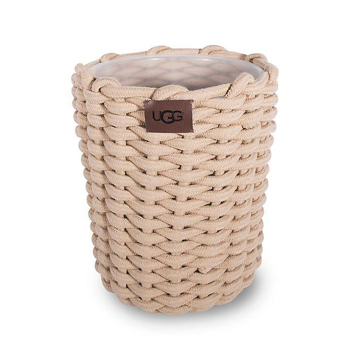 Alternate image 1 for UGG® Layla Wastebasket in Natural