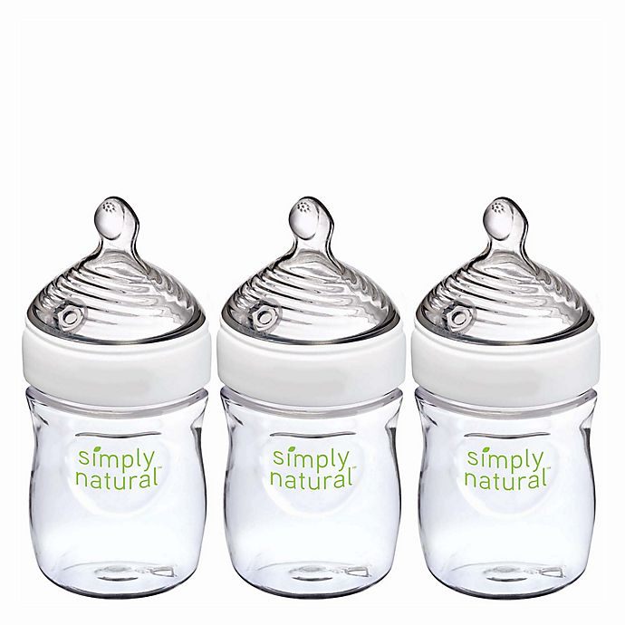 Alternate image 1 for NUK® Simply Natural 3-Pack 5 fl. oz. Bottle