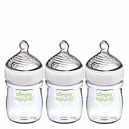 NUK® Simply Natural 3-Pack 5 fl. oz. Bottle