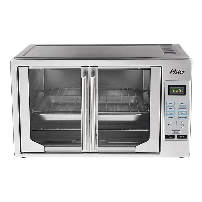 Alternate image 1 for Oster® Digital French Door Stainless Steel Oven