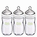 NUK® Simply Natural 3-Pack 9 fl. oz. Bottle