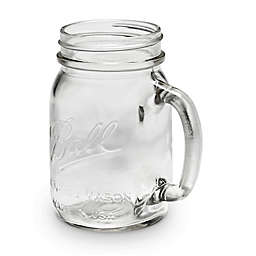 Ball® 16 Oz. Clear Glass Mason Mug (Set of 4)