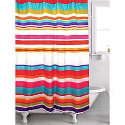 Famous Home® Candy Stripe Shower Curtain