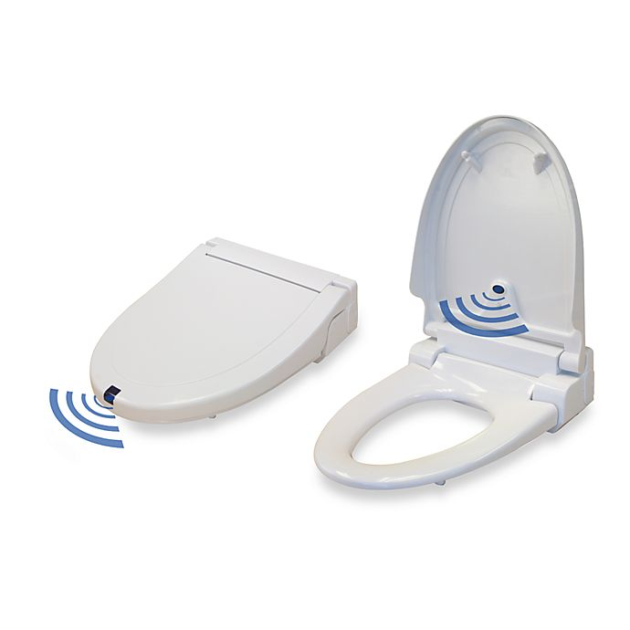 Swell Itouchless Sensor Control Plug In Elongated Toilet Seat Dailytribune Chair Design For Home Dailytribuneorg